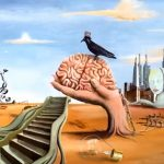 Mixt media oil and digi Surrealisme