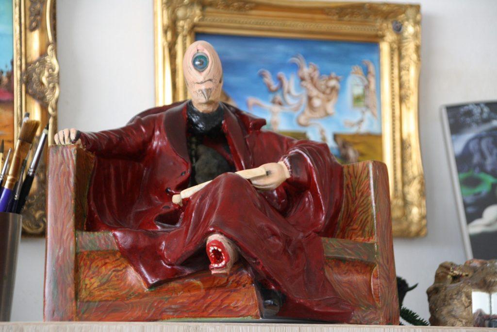 De tekenaar met de agressieve voet Surrealisme