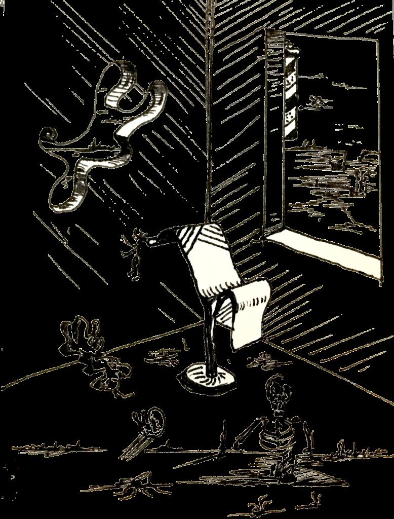 Kappersstoel Surrealisme
