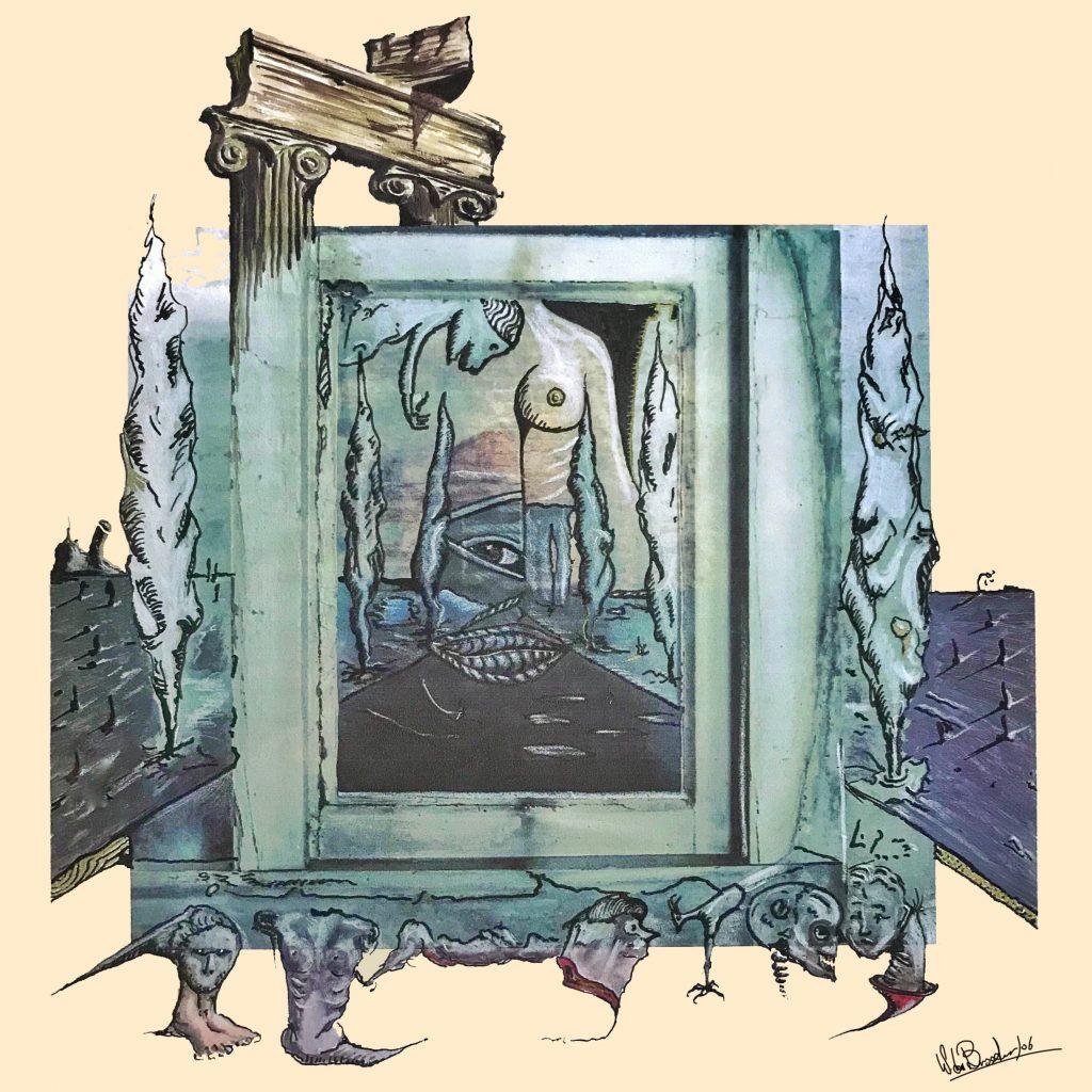 mijn bijdrage aan, Groep expositie 150e geboortedag Freud Kunstbibliothek Staatliche Museen Berlijn D 2006 Surrealisme